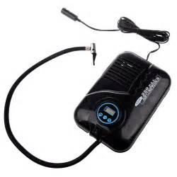 Car Tyre Tire Inflator Black Digital Portable Electronic Tyre Air Compressor 12v