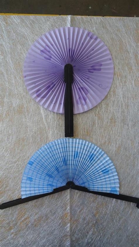 How To Fold A Paper Fan - folding paper fans images