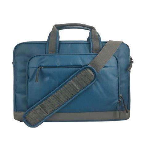 Tas Laptop 14 Inch jual cartinoe tas laptop selempang 14 inch biru