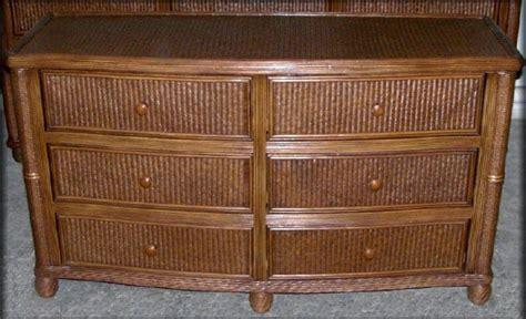 bombay rattan wicker 6 drawer dresser all about wicker
