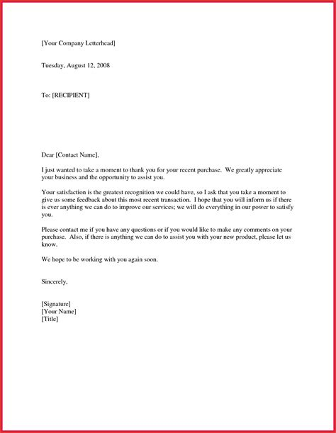 Thank You Letter To Your thank you for your business letter to client cover