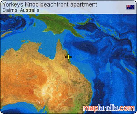 Yorkeys Knob Map by Yorkeys Knob Beachfront Apartment Cairns Satellite Map