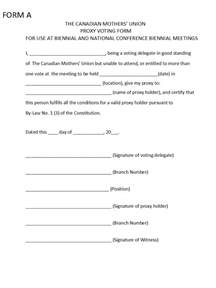 mothers union conference 2016 proxy form
