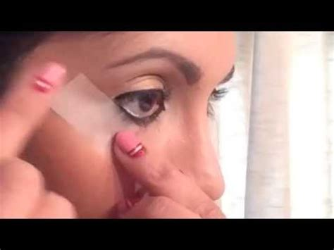 tutorial eyeliner con scotch winged eyeliner tutorial with scotch tape youtube