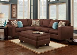 brown sofas in living rooms turquoise is a great accent color to chocolate brown