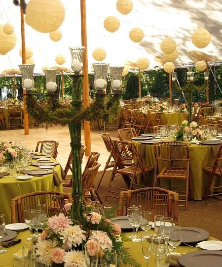 backyard wedding centerpiece ideas outdoor wedding reception decoration ideas weddings by lilly