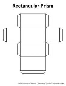 Rectangular Prism Template by Rectangular Prism Template