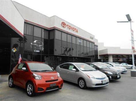 Toyota Culver City Car Dealership Specials At Culver City Toyota In Culver