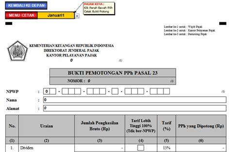 format excel impor pph 23 aplikasi spt masa pph pasal 23 deskripsi produk