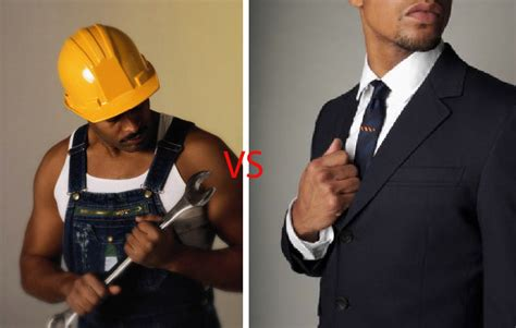 White Blue Colar blue collar what s it all about picking a career