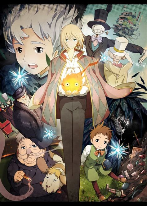 Howl For It characters in howl s moving castle howl s moving castle