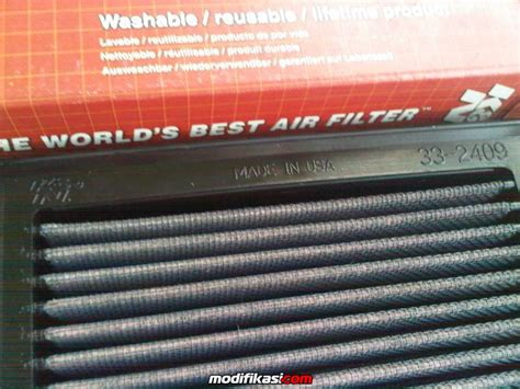 Filter Udara Nissan March K13 Ori Diskon wts filter k n asli harga diskon banting harga untuk nissan march k13