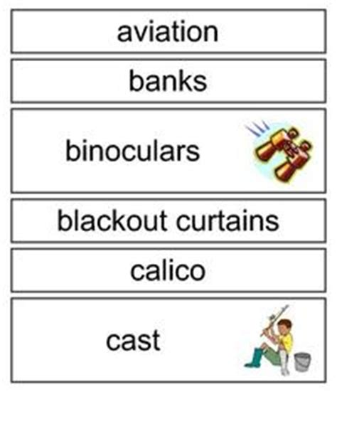 The Cay Vocabulary Worksheets by The Cay Word Wall 4th 6th Grade Printables Template