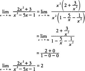 Lim As X Approaches Infinity Limits At Infinity
