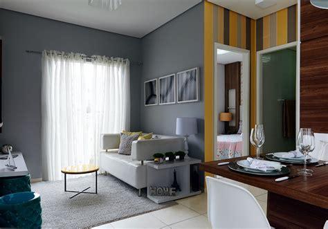 apartamentos pequenos decorados e planejados apartamento pequeno 47 m 178 para fam 237 lia quatro minha