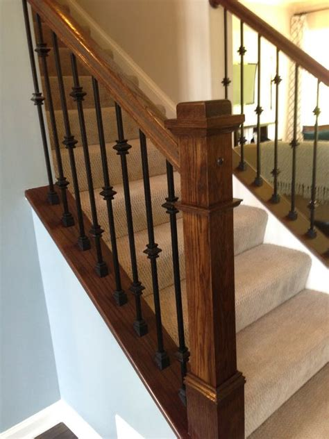 iron banisters and railings iron stair railing with knuckles google search