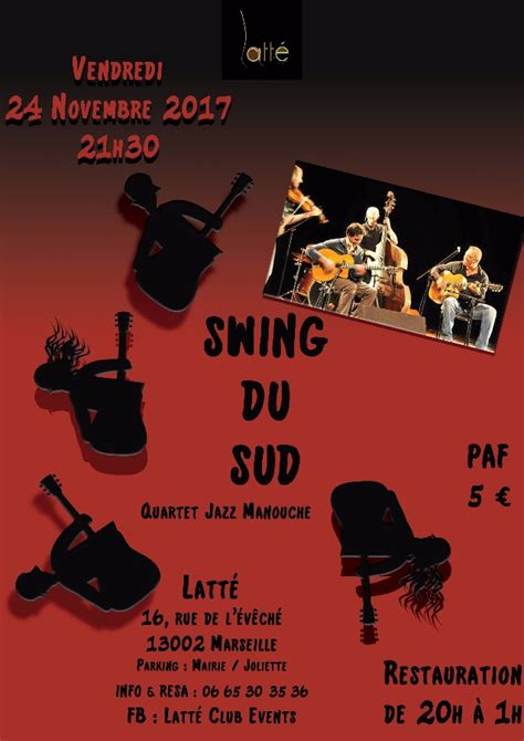 swing manouche swing du sud jazz manouche 24 11 2017 marseille