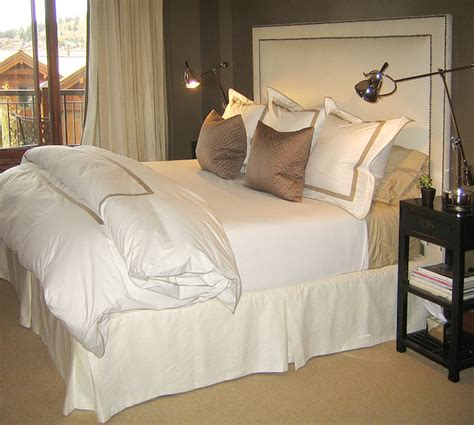 taupe bedroom contemporary bedroom goforth design
