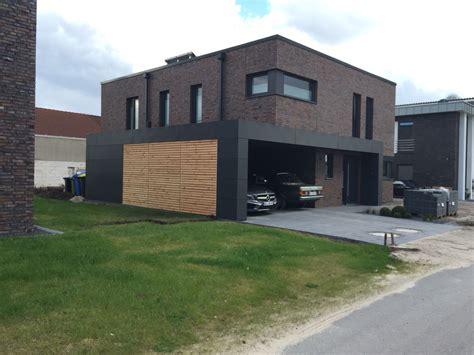 carport lärchenholz carport mit trespa hpl und l 228 rchenholz maisons