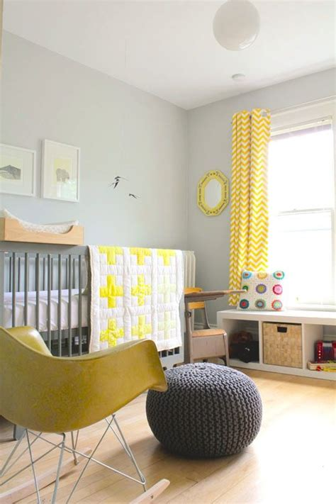 Yellow And Grey Nursery Curtains The Best Colors For Every Room Paint Color Portfolios Grey White Nursery And Baby Gender
