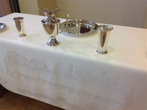 communion damask for your church