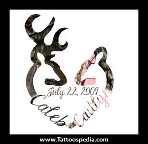 browning logo tattoo designs browning tribal deer family buck doe decal sticker