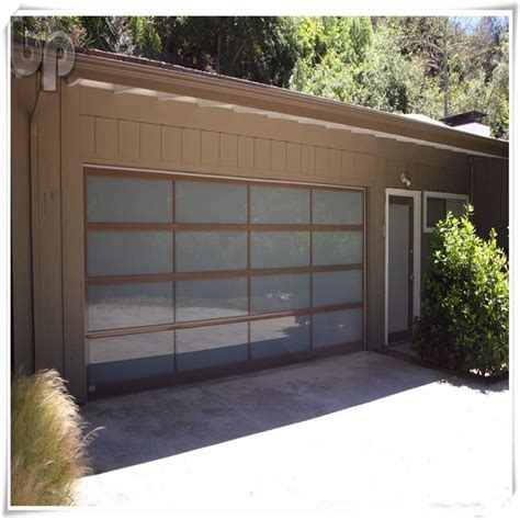 Aluminum Glass Garage Doors Aluminum And Glass Garage Automated Door Buy Glass Panel Garage Door Aluminum And Glass Garage