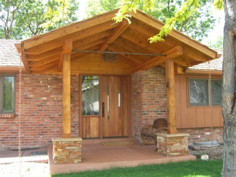 haus aus holz bauen veranda selber bauen eine coole idee archzine net