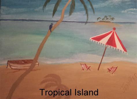 paint nite island schedule goingout paint the town studios llc event quot tropical