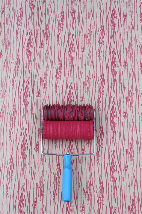 wood pattern paint roller wood grain patterned paint roller and applicator set