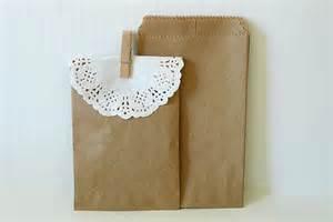 Brown Paper Bag Favors by Kraft Paper Bags Brown Paper Bags Wedding Favor Bags By