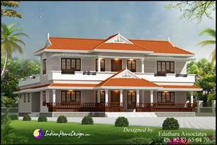 Style Home Design by Kerala Style 2288 Sqft Villa Design Traditional