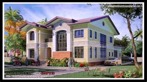 house design philippines youtube house plan two storey house design in the philippines
