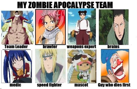 anime list zombie anime zombie apocalypse dream team anime amino