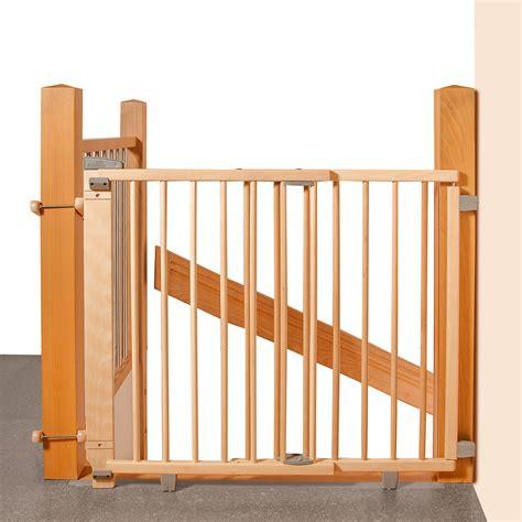 barriere escalier sans percer 3043 geuther barri 232 re en bois pour escalier a percer 95 224