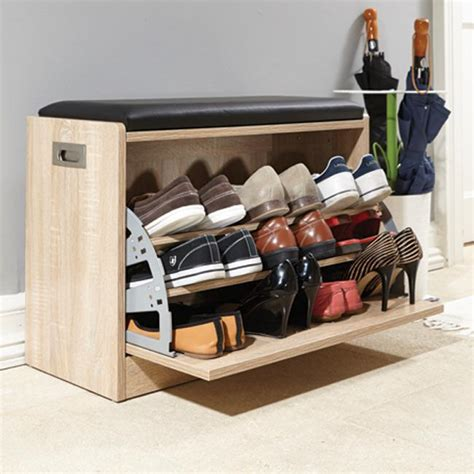 shoe ottoman bench deluxe shoe ottoman bench storage closet wooden seat rack