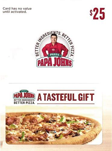 Papa Johns Gift Cards - graduation gifts for boys that they will actually use