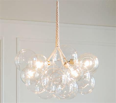 glass bubbles chandelier jean pelle diy chandelier chandelier