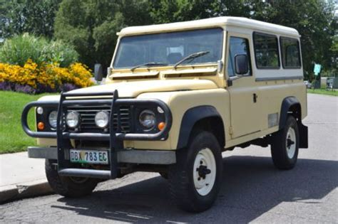 land rover south find used land rover defender 110 oneten 3 door truck 4x4