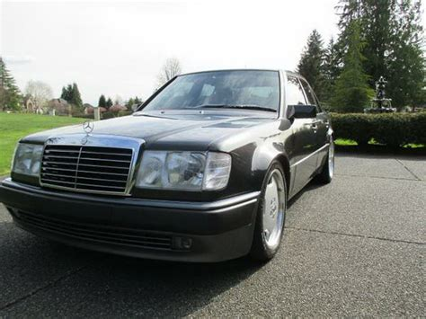 mercedes porsche 500e a gloriously stealthy 1992 porsche made mercedes 500e is
