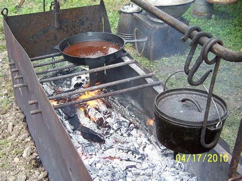 Backyard Grill Stabbing Cowboys And Chuckwagon Cooking Building A Box For