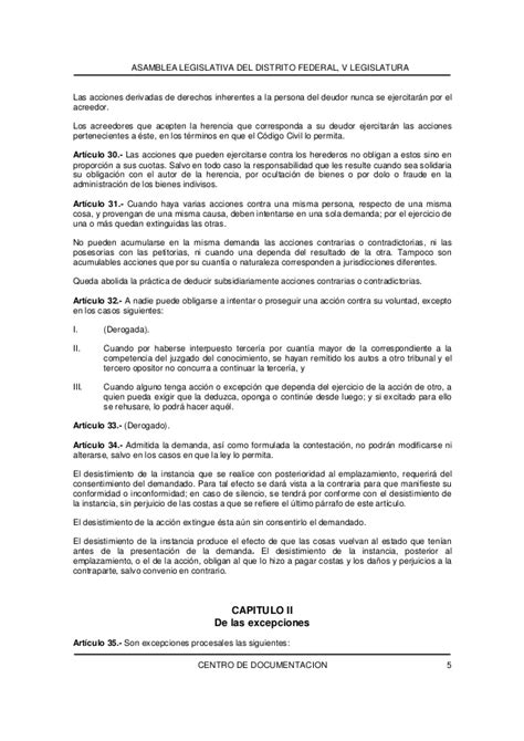 codigo civil para el distrito federal 2016 codigo de procedimientos civiles para el distrito federal