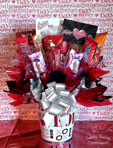 valentines chocolates for him bouquet for him s