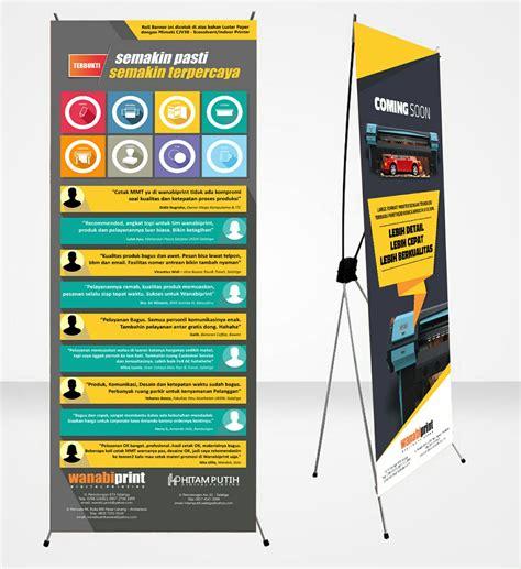 Mini X Banner Agen Brilinks Media Promosi x banner roll banner mini x banner