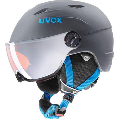Helm Sepeda Aerogo Gloss Titantium ski helmet uvex junior visor pro titanium blue mat uvex sports