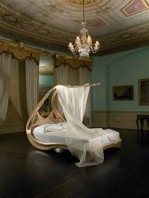 unique beds amazing wooden canopy bed enignum by joseph walsh digsdigs