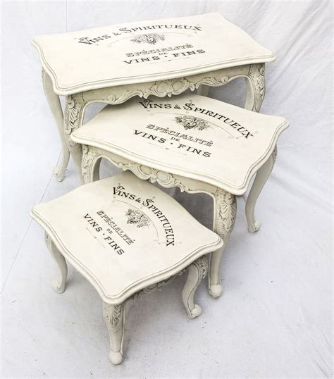 vintage shabby chic decal transfer to furniture and wood