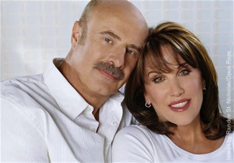 has anyone seen robin mcgraw dr phils wife recently on the cover where the heart is success magazine what