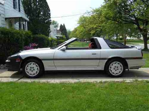 1987 Toyota Supra Turbo Sell Used 1987 Toyota Supra Turbo Hatchback 2 Door 3 0l In