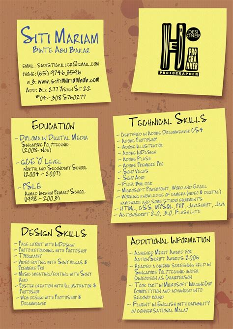 creative resume ideas infographic ideas